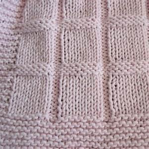 Baby Blocks Blanket - knit, great for beginners
