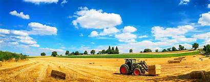 Farm Tractor Croplands Global
