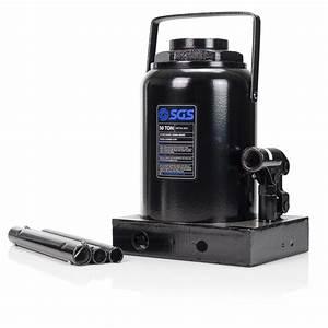 50 Ton Hydraulic Bottle Jack With 180mm Stroke
