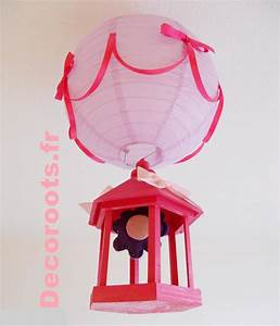 Lustre Bébé Fille : lustre suspension cage fleur rose et parme et violet enfant b b luminaire enfant b b ~ Teatrodelosmanantiales.com Idées de Décoration