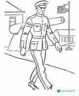 Military Coloring Printable Pages Sheet Below sketch template