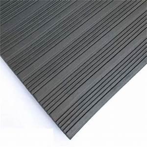 rubber cal 03 168 w co 04 composite rib corrugated rubber With trex floor mats