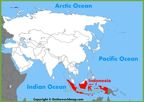 indonesia map illustrator