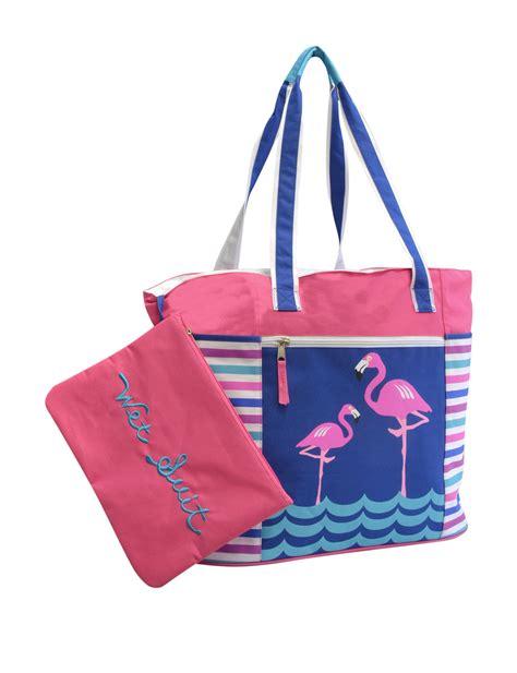 flamingo beach bag bags