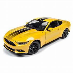 Auto World AUT229 2016 Ford Mustang GT, Triple Yellow - Walmart.com - Walmart.com
