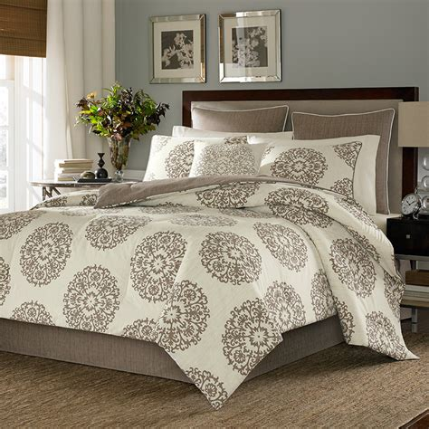stone cottage medallion bedding collection from