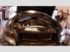 DIY BMW E70E71 X5X6 Coolant Flush YouTube