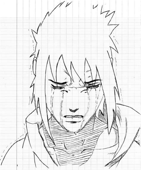 sasuke uchiha dessin de yacent poste sur tvhland