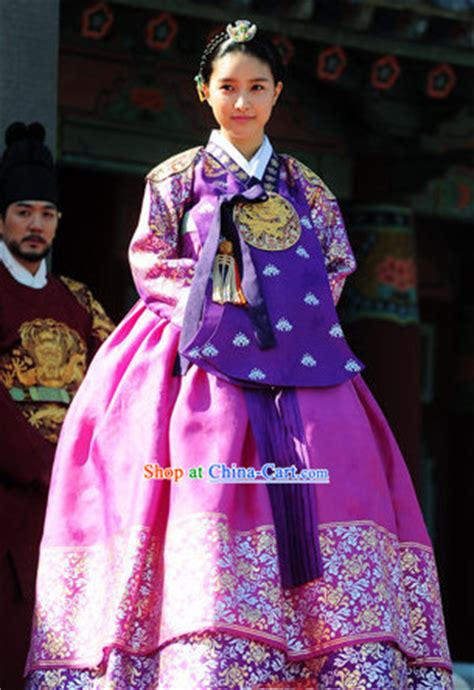 korean traditional imperial palace princess clothes