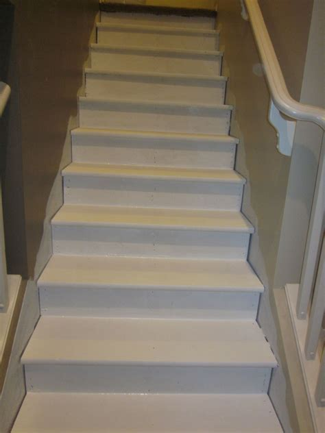 Hometalk   Removing Carpet from Stairs and Painting Them