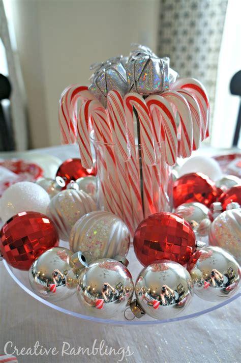 christmas candy table favors festive and inexpensive christmas table creative ramblings