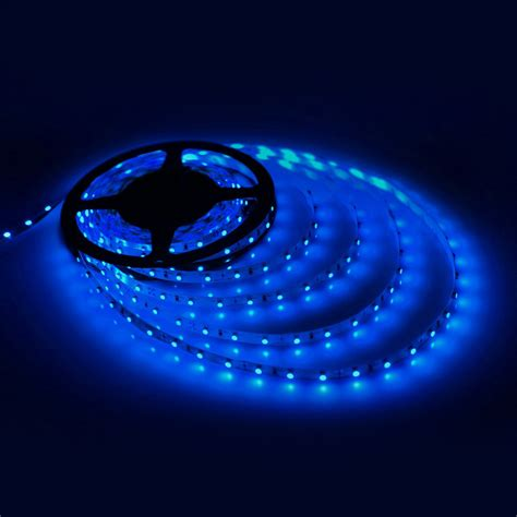 5m 3528 Smd Blue 300 Leds Flexible Light Strip Lamp Dc 12v