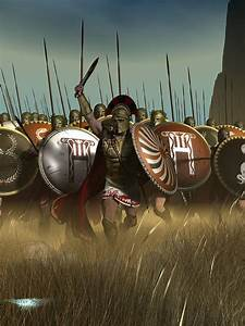 Spartans Digital Art by Kostas Nikellis