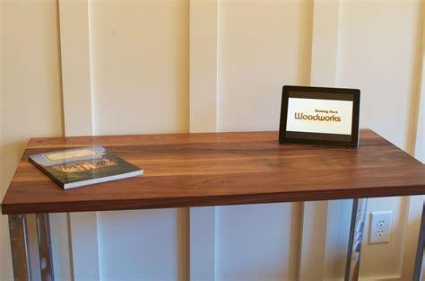 wood and steel desk buy handmade walnut wood desk modern walnut desk brushed