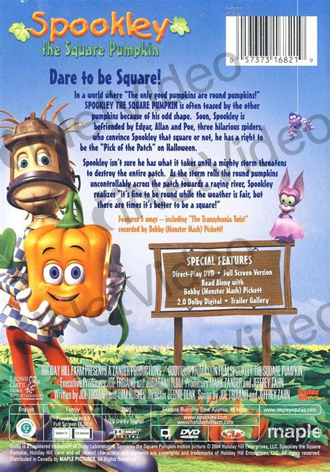 Spookley The Square Pumpkin Dvd Youtube by Spookley The Square Pumpkin On Dvd