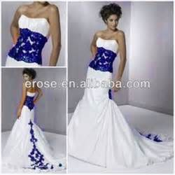 royal blue and white wedding dresses blue and white wedding dresses