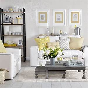 dove grey living room with yellow cushions living room With gray and yellow living rooms