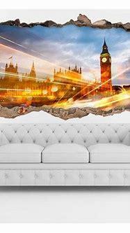 🥇 Vinilo 3D London City