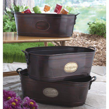 large copper tub large copper tub for beverages with quot cheers