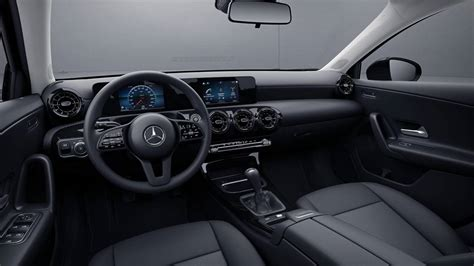 Amg Gla 35 2020 Motor Ausstattung by See The New Mercedes A Class In Basic Spec Hubcaps Included