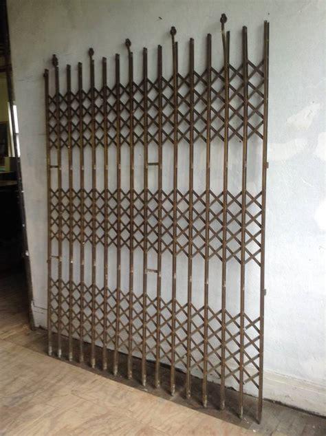 brass elevator gate  stdibs