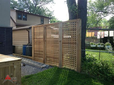 lattice privacy screen cedar lattice privacy screen