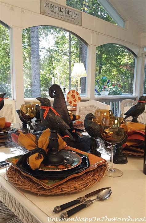 Halloween Entertaining With A Whimsical Table Setting