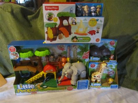 fisher price  people  zoo animal sounds big