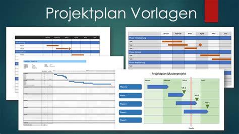 projektplan vorlage excel word powerpoint