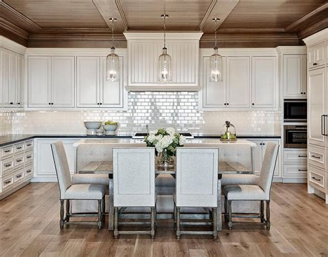 stained panel kitchen ceiling  white beadboard range
