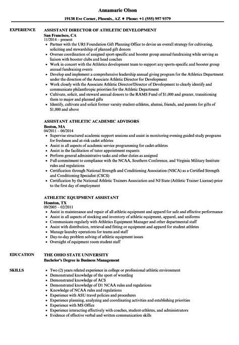 Sle Athletic Resume by Athletic Resume Sles Bijeefopijburg Nl