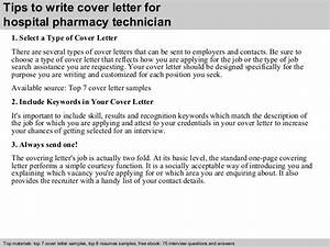hospital pharmacy technician cover letter With good cover letters for pharmacy technicians