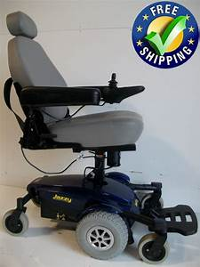 Pride Mobility Jazzy Select 6 Ultra Power Chair With Seat