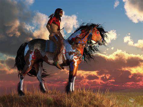 Warrior and War Horse Digital Art by Daniel Eskridge