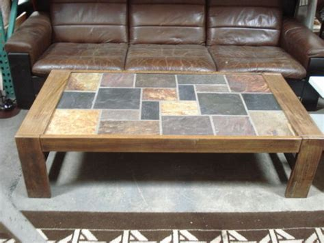 tile coffee table slate coffee table design images photos pictures