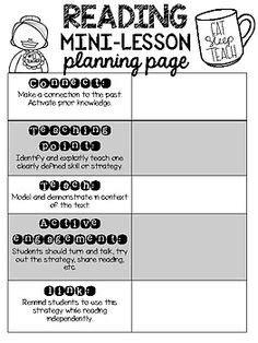 create   lucy style mini lessons    editable workshop mini lesson template