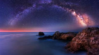 Milky Way Sea 4k Wallpapers 2160 Uhd