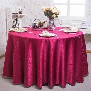 Nappe De Table Ronde : europe style home tablecloths printed nappe ronde blanche table cloth overlay crochet tablecloth ~ Teatrodelosmanantiales.com Idées de Décoration