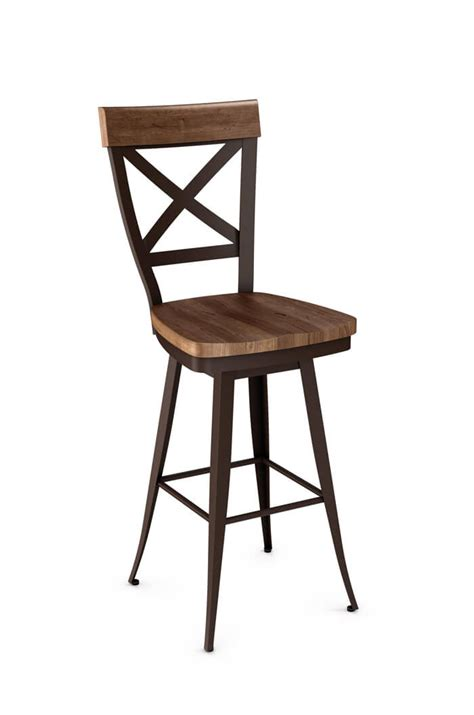 whitdistressed wood bar stools stools design outstanding iron and wood bar stools 1246