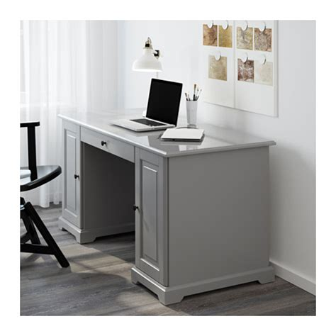 liatorp desk grey 145x65 cm ikea