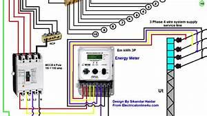 Home Energy Meter Wiring Diagram
