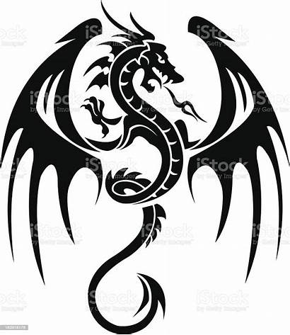 Dragon Tattoo Illustration Vector Wing Animal Illustrations