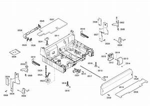 Bosch Model She45m06uc  50 Dishwasher Genuine Parts