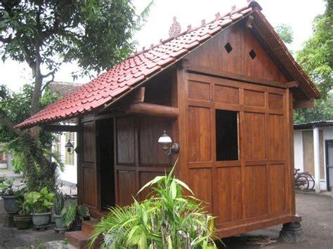 images  rumah kayu  pinterest javanese