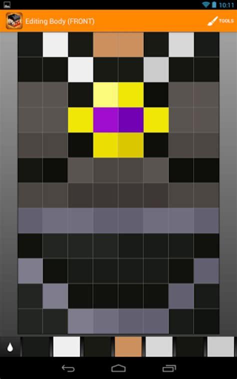 minecraft skin studio para android