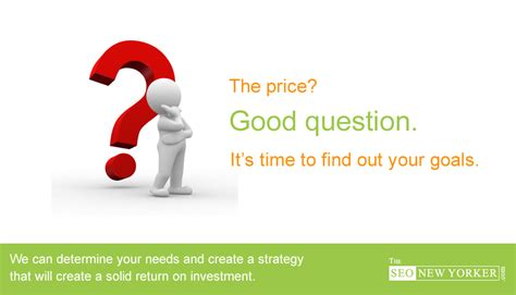seo pricing seo pricing and how it works for your new york caign