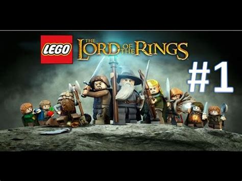 lego lord   rings  hobbit part  ps youtube