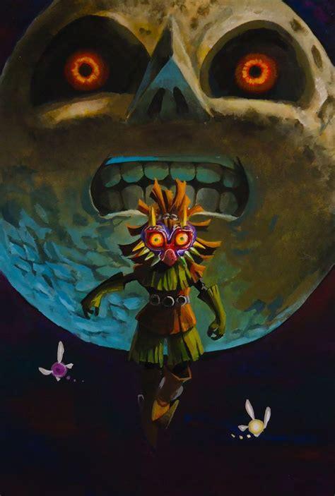 The Legend Of Zelda Majoras Mask Skull Kid Legend Of