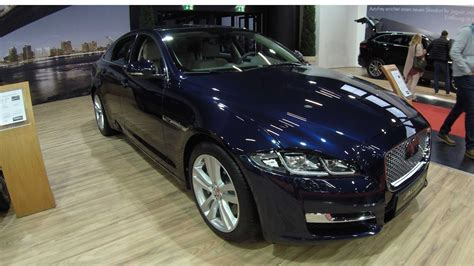 jaguar xj portfolio  dark sapphiere blue colour