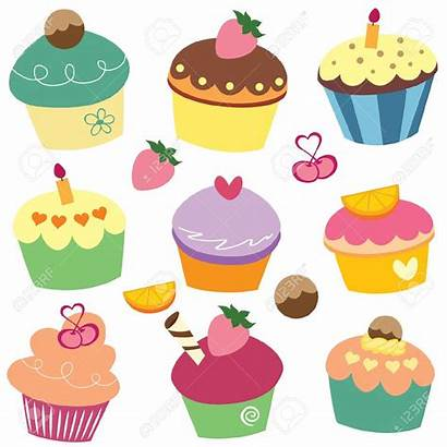 Cupcake Cupcakes Clip Clipart Monthly Cakes Cup